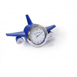 Stolní hodiny modré letadlo