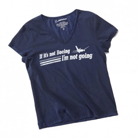 Dámské tričko If It's Not Boeing Ladies Tee