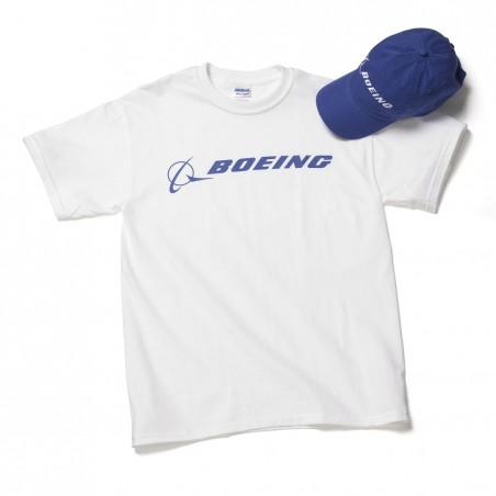 Set čepice a trička Boeing Signature
