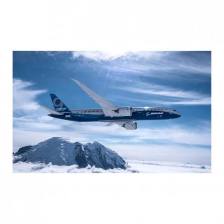 Plakát 787-9 First Flight Over Mt. Rainier Poster