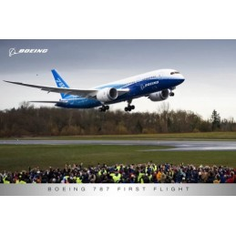 Plakát Boeing 787 First Flight