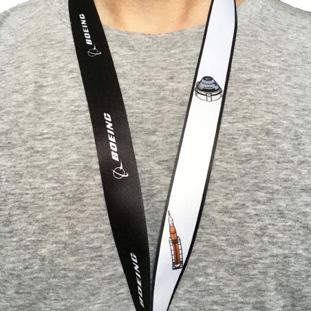 Šňůrka na krk Boeing Illustrated Space Family Lanyard