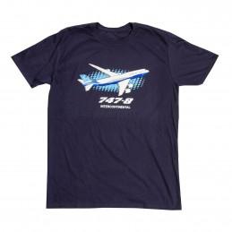Tričko Boeing 747 Illustrated