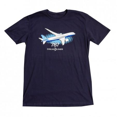 Tričko Boeing 787 Dreamliner Illustrated