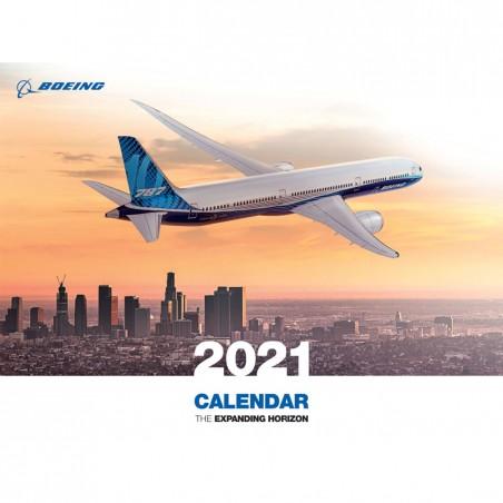 Kalendář Boeing 2021