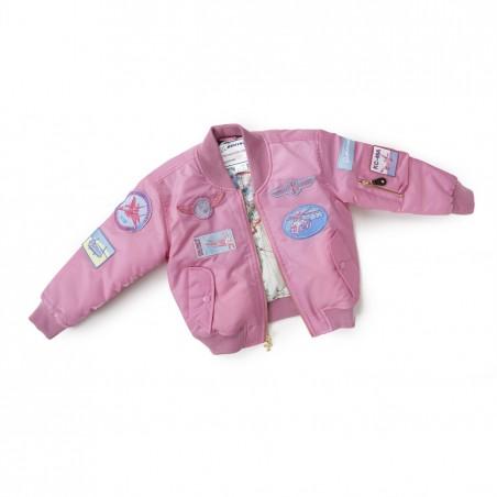 Dětská bunda Boeing Pink Aviator Jacket