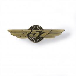 Odznak - křídla Boeing 757